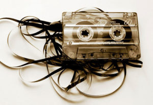 Crazy cassette tape